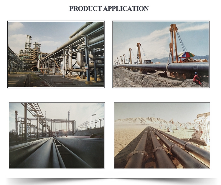 Epoxy Coal Bitumen steel pipe application