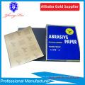 papel de lija / papel abrasivo / hoja de lija