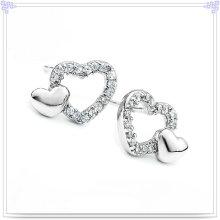 Moda jóias brinco de moda 925 jóias de prata esterlina (se041)