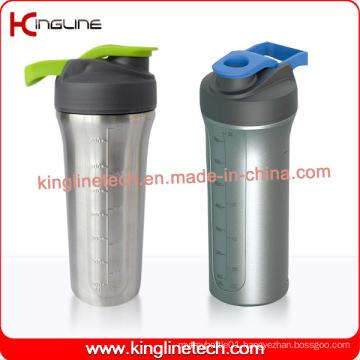 800ml Stainless Steel Protein Shaker (KL-7072)