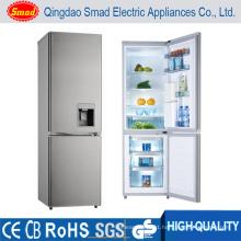 270L Bottom Freezer Refrigerator Double Door Refrigerator with Water Dispenser