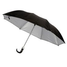Paraguas de protección UV recubierto de dos pliegues doble (jy-242)