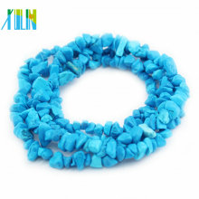 5 strands natural turquoise gemstone chips beads in bulk