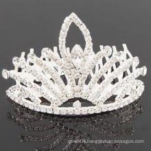 bridal hair accessories crystal tiara barrette types