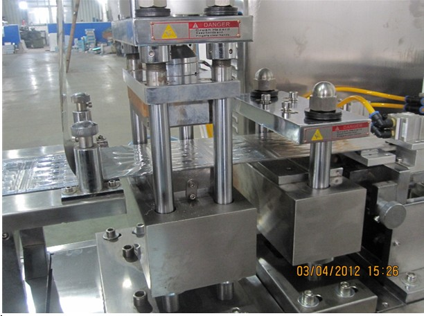 heat sealing station of blister packing machine