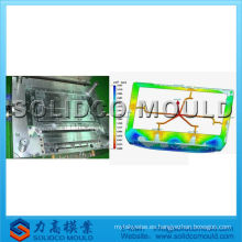 fabricante plástico del molde de la cubierta del LCD TV del fabricante del molde de la cubierta del LCD TV fabricante