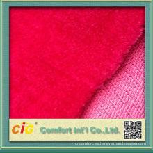 Forme el nuevo diseño bastante colorido el 100% poliéster handfeeling suave Artificial Piel