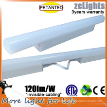 2016 New CE T5 LED Tube LED Under Cabinet Light 60cm Linear Light with SMD 2835 LED T5 Tube