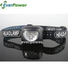 5LED+2red LED Headlamp (HL-1010)