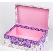Schmuckpapierbox. Kundenspezifische feine Make-up-Box,