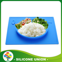 Food grade One-piece silicone placemat