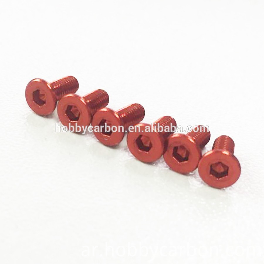 Countersunk Head Flat Aluminum Screws