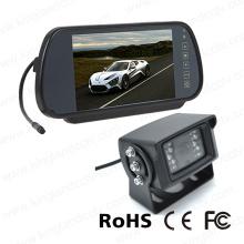 7inches Rückspiegel-Monitor-System mit Infrarot-Kamera