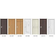 Puerta interior de madera de PVC (serie HZ)