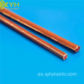 Para Electric Motors Phenolic Cotton Cloth laminated Rod