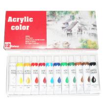 peinture définit l'eau couleur acrylique