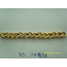 Nuevas cadenas de la manera del metal del color del oro del diseño para el bolso