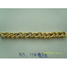 New design gold color metal fashion chains for bag