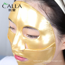 Chine fabricant antiaging masque facial de bio-collagène d'or pour la vente en gros