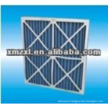 cardboard frame pleated air filter