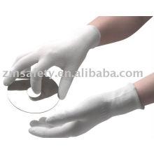 Чистый номер Антистатические перчатки с полиуретановым покрытием на пальца