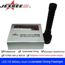 JEXREE CREE XM-L2U2 LED lampe de poche super lumineuse forte
