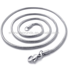 Classic 2mm width stainless steel for men women unisex chain necklace jewellery