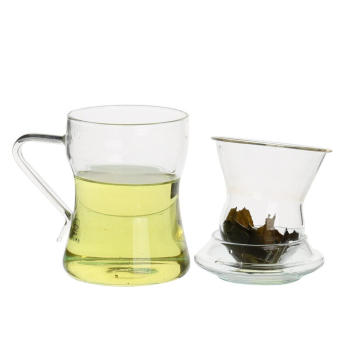Thermo Glass Drinkware Cup For Green Tea