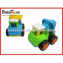 Camion mini-toy de construction de dessin animé 2012