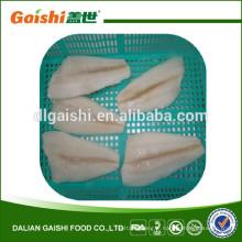 vente en gros poisson de qualité sashimi des eaux de l'Alaska des États-Unis congelé filet de flet de la flèche