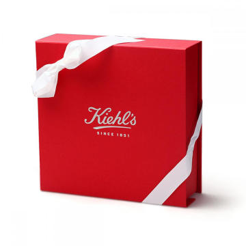 Custom Silver Foil Logo Collapsible Cosmetic Packaging