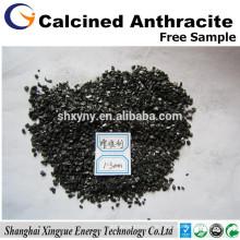 Ningxia 95% Kohlenstoffgehalt Elektrisch kalzinierter Anthrazit-Kohlenstoffzusatz