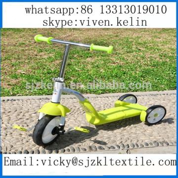 2016 vente chaude 3 en 1 enfants trois roues scooter