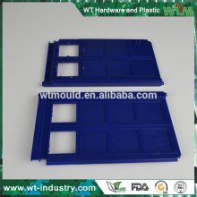 Fabricante do molde de injeção do plástico da precisão ABS para a prateleira / tampa do frame da foto na porcelana
