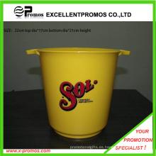 El balde de hielo plástico más vendido respetuoso del medio ambiente (EP-B411126)