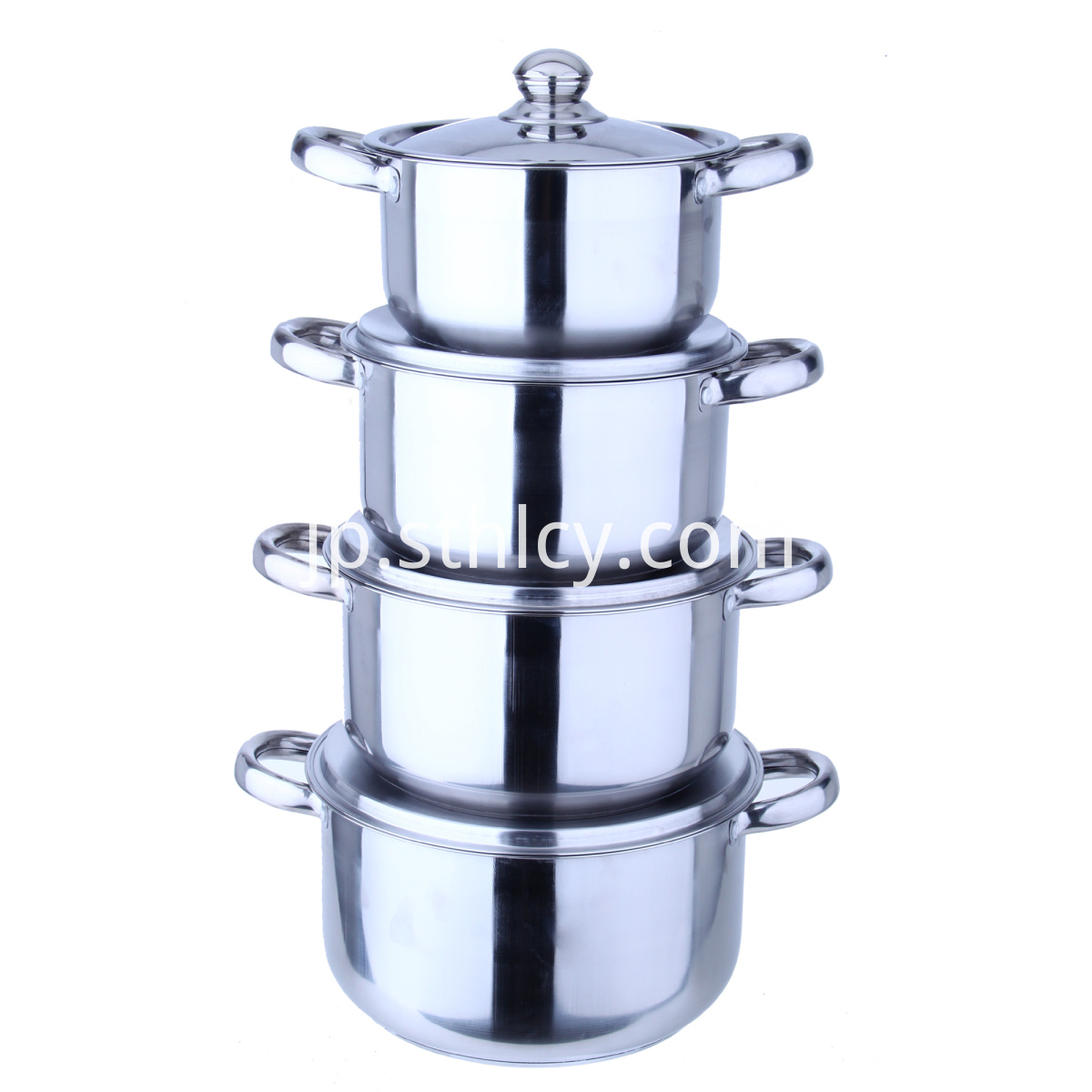 Kitchen Silver Cookware Pot