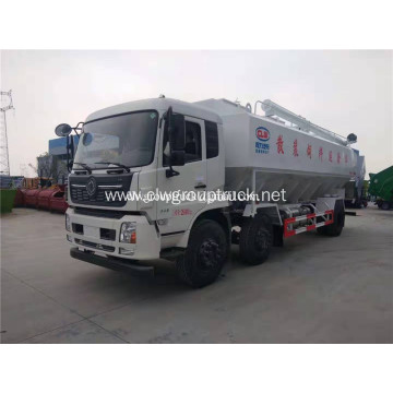 Dongfeng 6x2 bulk feed transportation truck