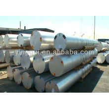 6061 alliage d'aluminium frotté autour de la barre ronde