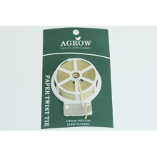AGROW Paper Twist Ties con Cutter