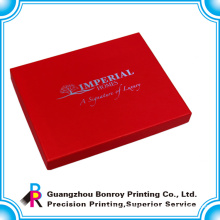 China cardboard customized logo design wholesale jewelry boxes