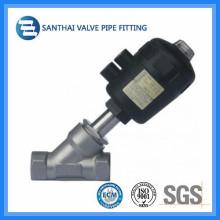 Santhai Brand Stainless Steel Threaded Anlge Valve
