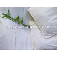"100% cotton hotel white bedding set fit for 18"" height bed"