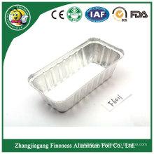 Niedriger Preis-wegwerfbarer Fluglinien-Aluminiumfolie-Nahrungsmittelbehälter