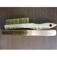 Высокое качество деревянной ручкой латуни полировки кисти (YY-601)