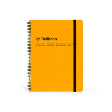 Rigid Custom Hardcover Spiral Skola Motion Notebook