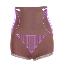 High quality pink exquisite lace panties shapewear slimming underwear women