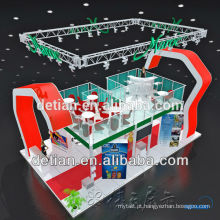 Impressão acrílica do projeto 2014 novo e exposição portátil barata da exibição da cabine da feira profissional