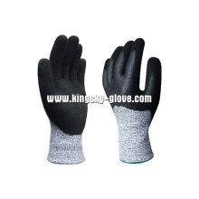 13Г вкладыш Пэвд Анти-вырезать Нитрила двойной Ближнего перчатки-5049