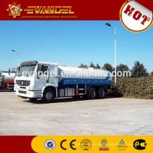 Sinotruk HOWO 6x4 20000 litros tanque de agua camión precio para la venta