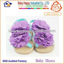 Sandalias al por mayor de los cabritos de la muchacha del manufactory en la acción